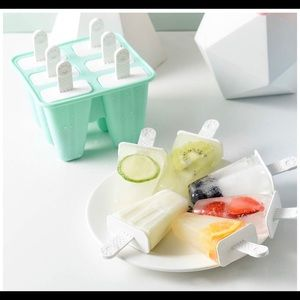 Other - Silicone Popsicle Maker Popsicle Mold Brand New